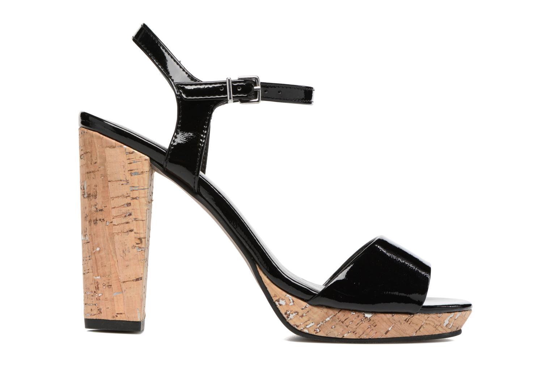 Sandales et nu-pieds Tamaris Espotoa Noir vue derrière
