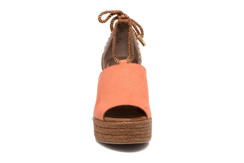 Sandales et nu-pieds Tamaris Xucca Orange vue portées chaussures