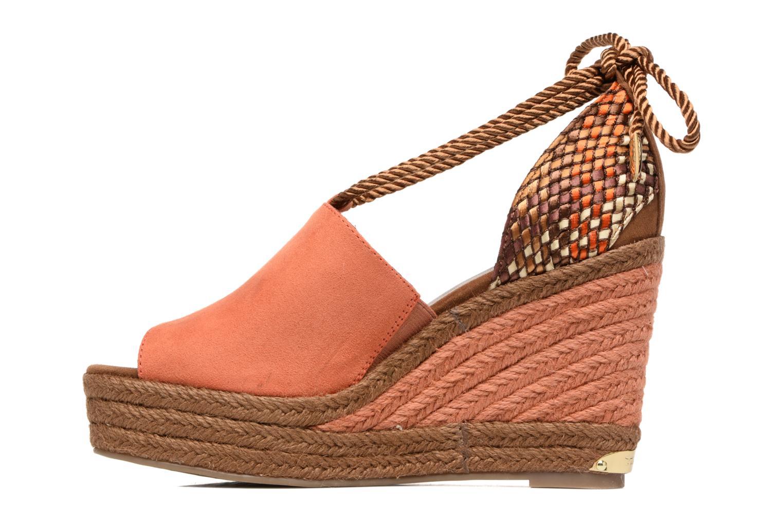 Sandales et nu-pieds Tamaris Xucca Orange vue face