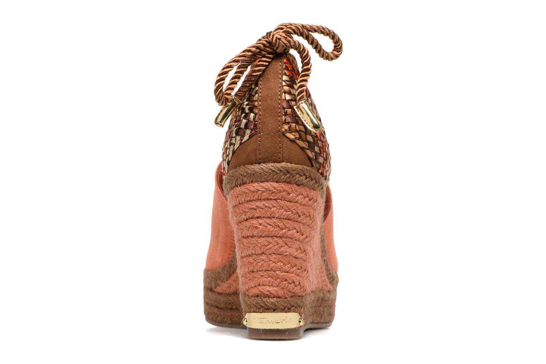 Sandales et nu-pieds Tamaris Xucca Orange vue droite