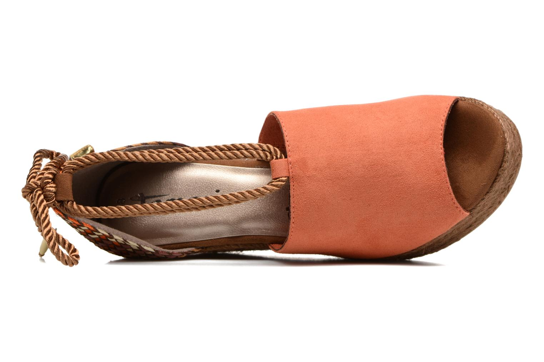 Sandales et nu-pieds Tamaris Xucca Orange vue gauche