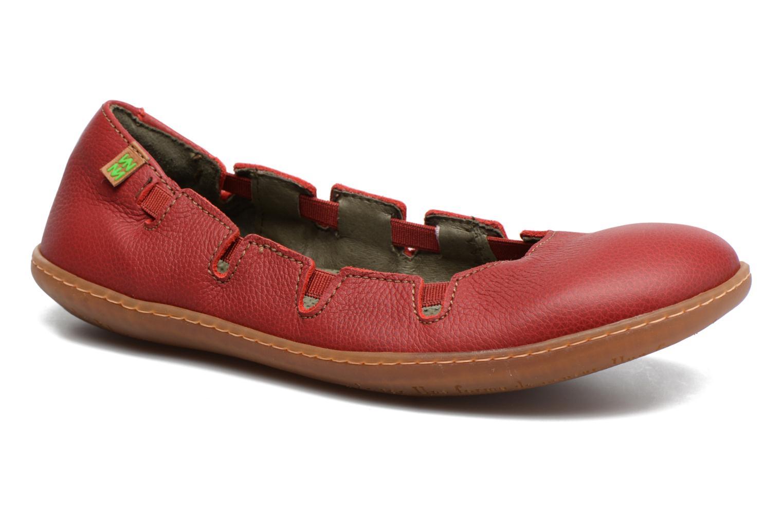 Grandes descuentos últimos zapatos El Naturalista El Viajero N5272 (Rojo) - Bailarinas Descuento
