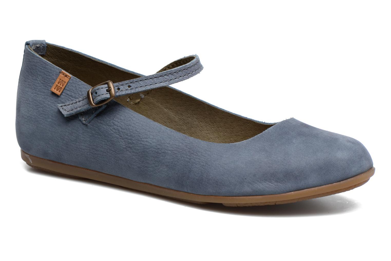 Zapatos de hombres y mujeres de moda casual El Naturalista Stella ND58 (Azul) - Bailarinas en Más cómodo