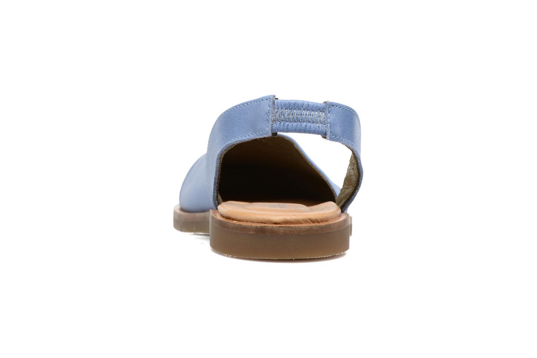 Sandales et nu-pieds El Naturalista Tulip NF38 Bleu vue droite