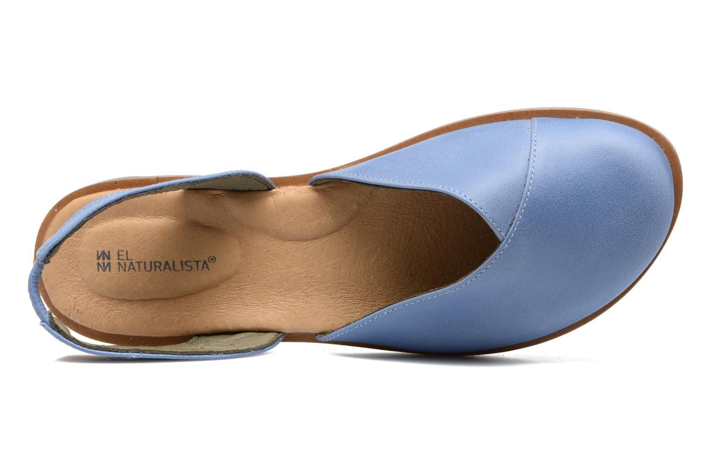 Sandales et nu-pieds El Naturalista Tulip NF38 Bleu vue gauche