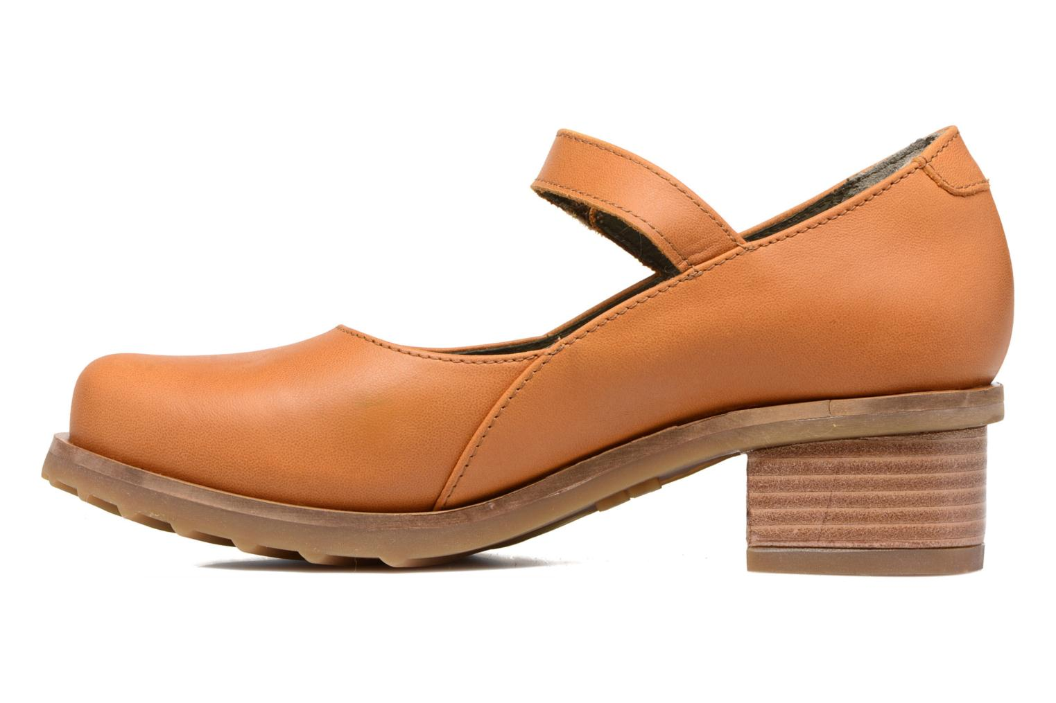Ballet pumps El Naturalista Kentia N5100 Orange front view