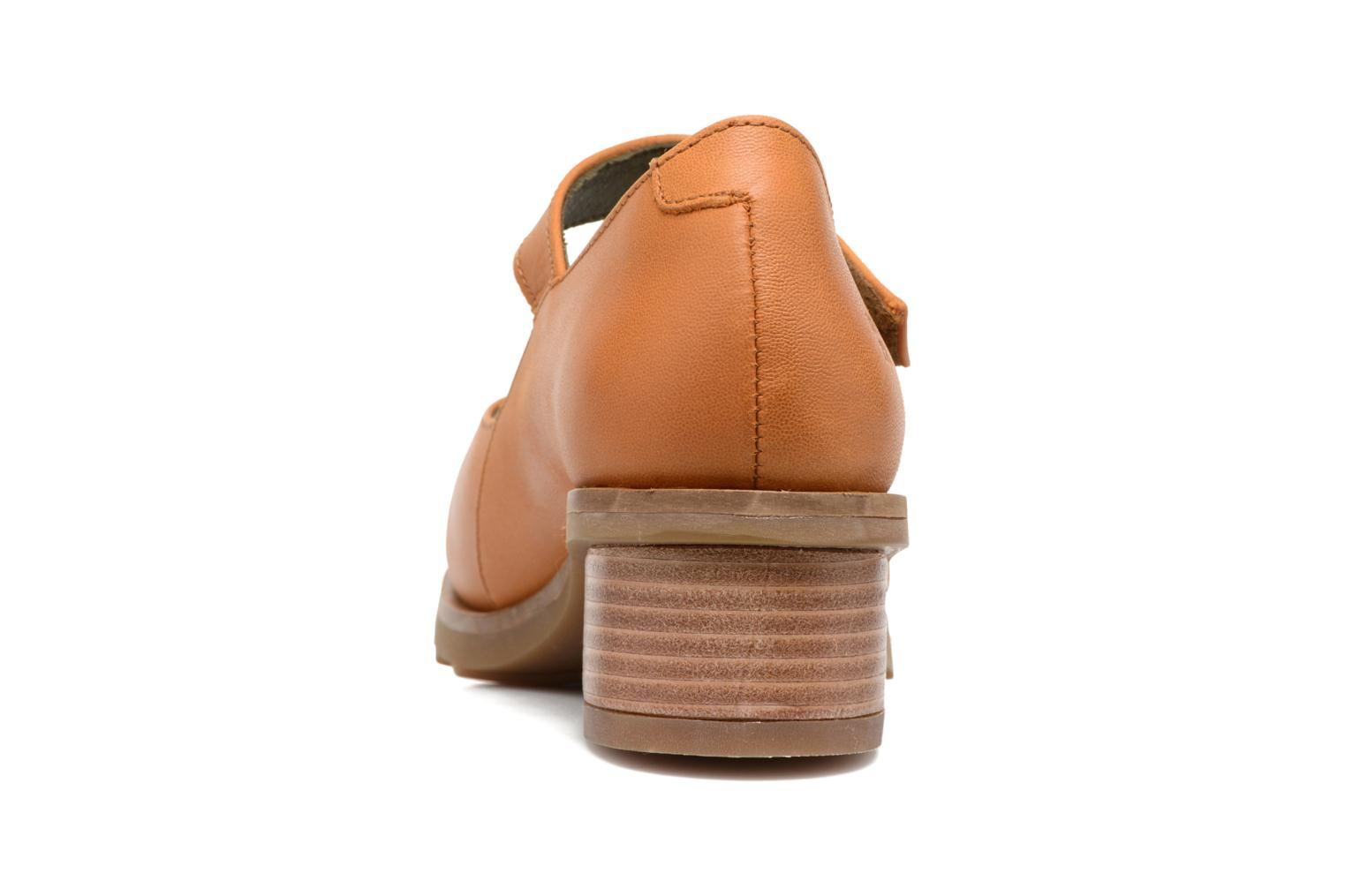 Ballet pumps El Naturalista Kentia N5100 Orange view from the right