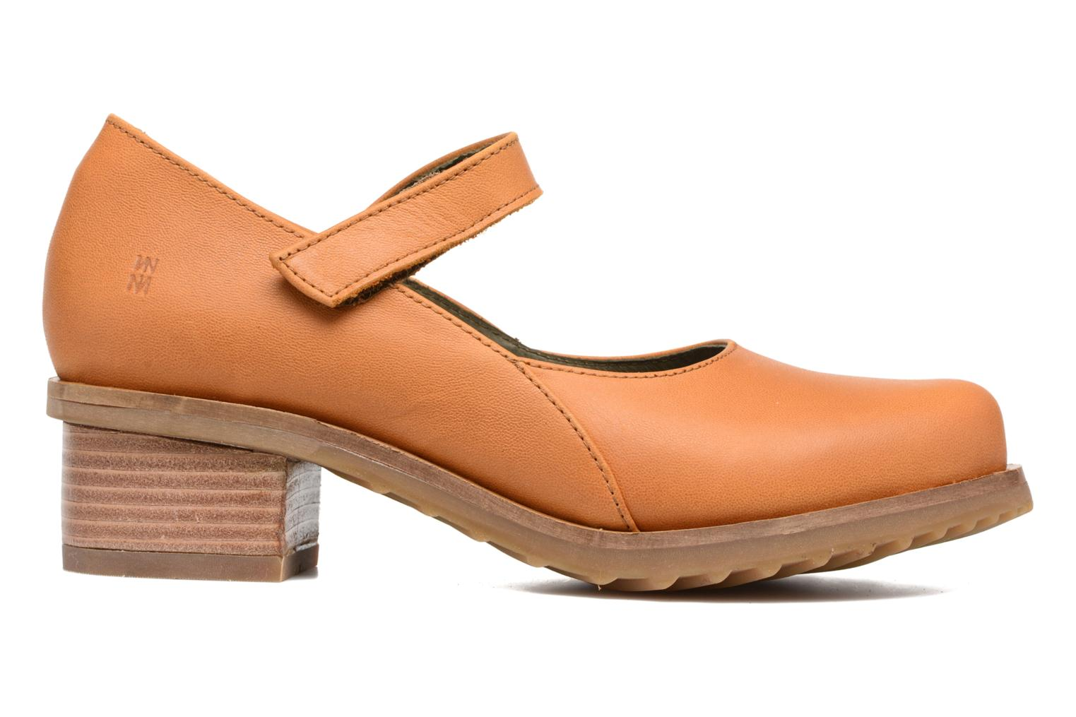 Ballet pumps El Naturalista Kentia N5100 Orange back view
