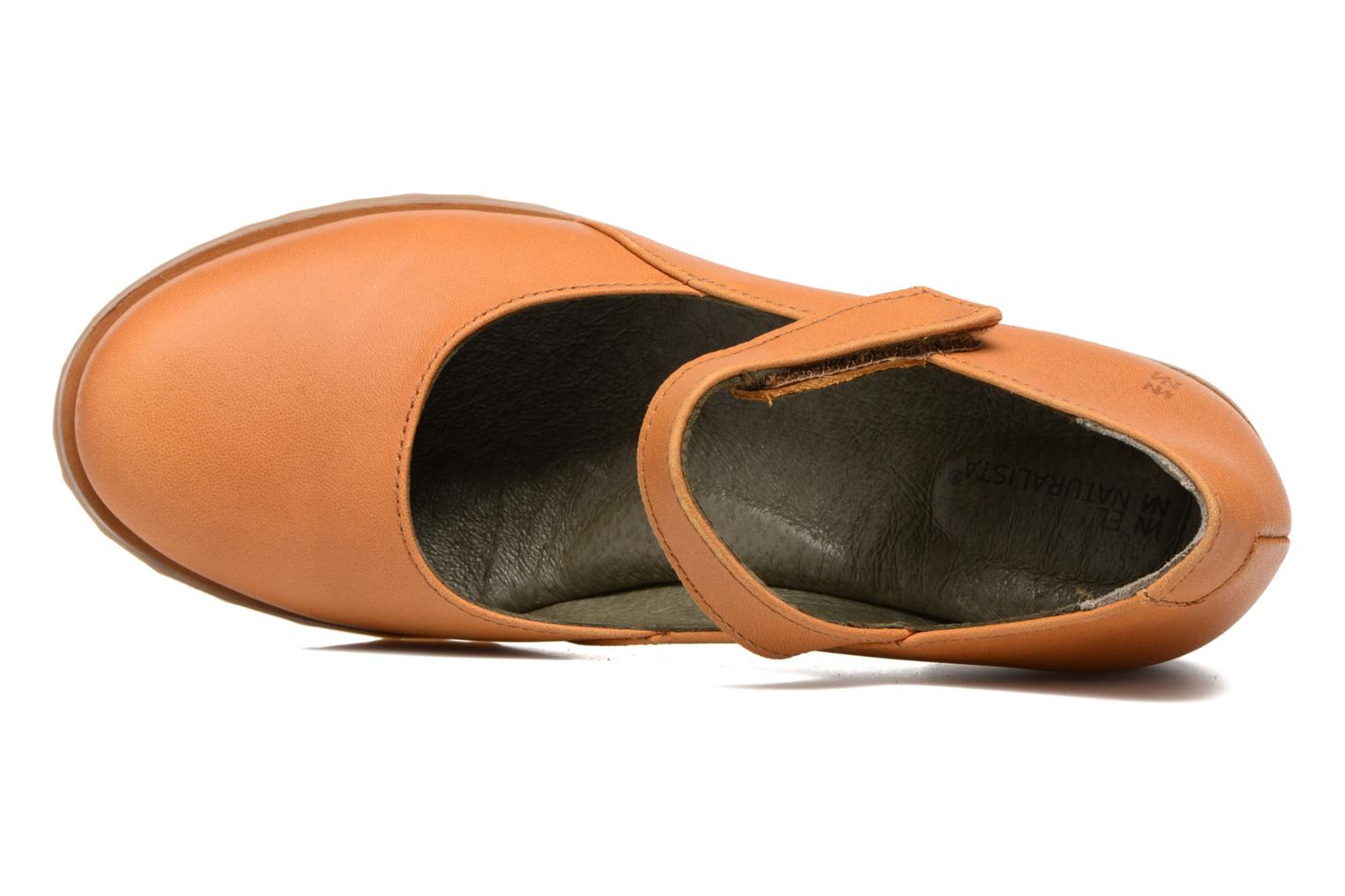 Ballet pumps El Naturalista Kentia N5100 Orange view from the left