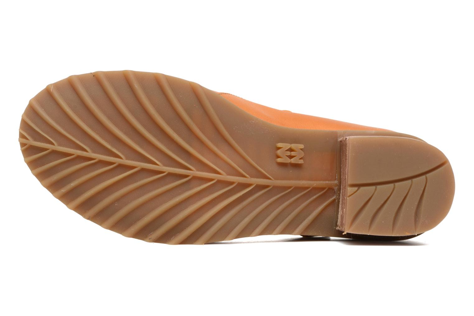 Ballet pumps El Naturalista Kentia N5100 Orange view from above
