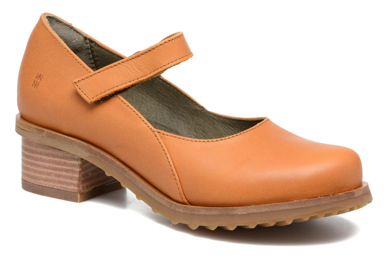 Ballet pumps El Naturalista Kentia N5100 Orange detailed view/ Pair view