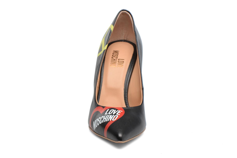 Escarpins Love Moschino Cut Out Logo Pump Noir vue portées chaussures