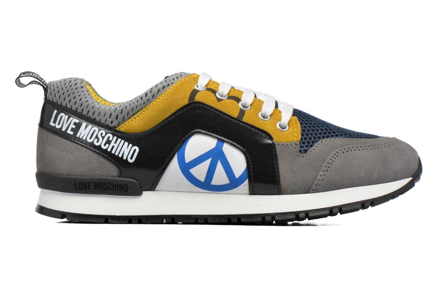Baskets Love Moschino Cut Out Logo Running Multicolore vue derrière
