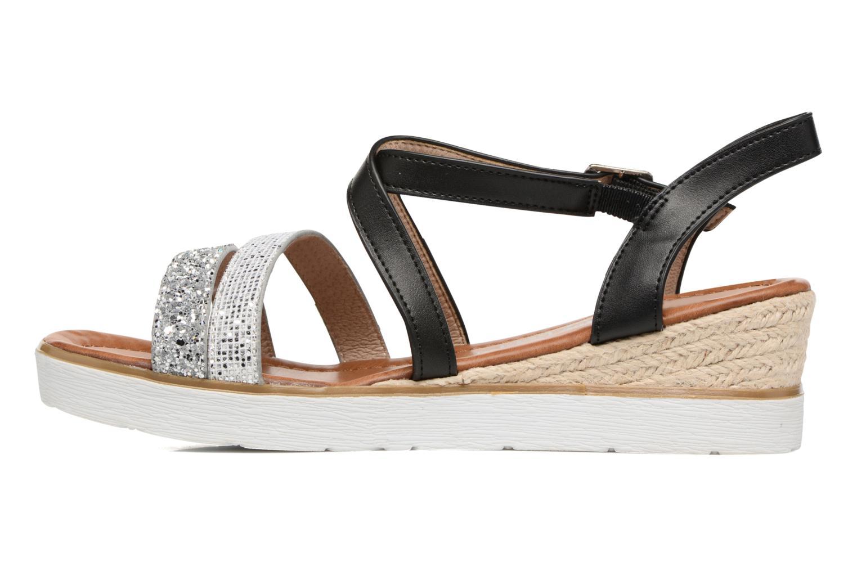 Sandales et nu-pieds Xti Japy 46651 Noir vue face
