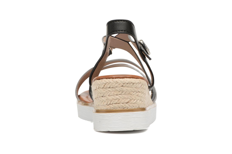 Sandales et nu-pieds Xti Japy 46651 Noir vue droite