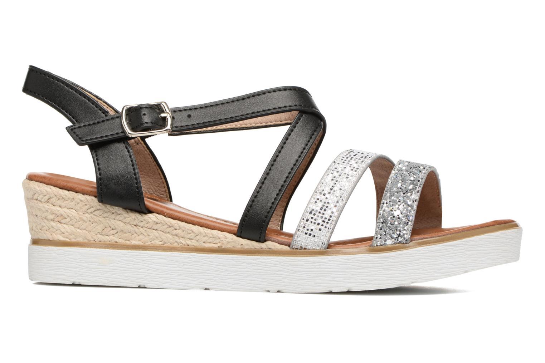 Sandales et nu-pieds Xti Japy 46651 Noir vue derrière