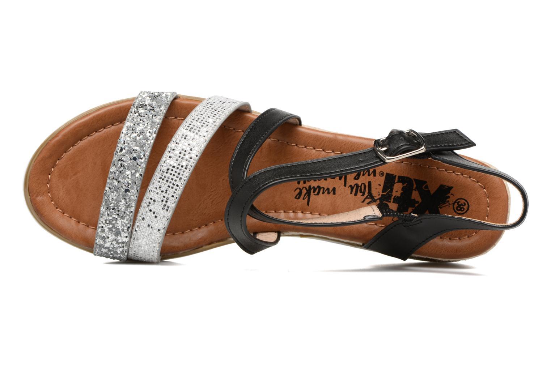 Sandales et nu-pieds Xti Japy 46651 Noir vue gauche