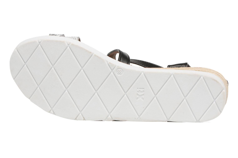 Sandales et nu-pieds Xti Japy 46651 Noir vue haut