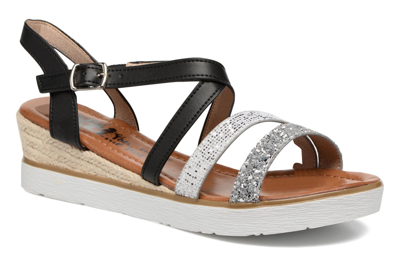 Sandales et nu-pieds Xti Japy 46651 Noir vue détail/paire