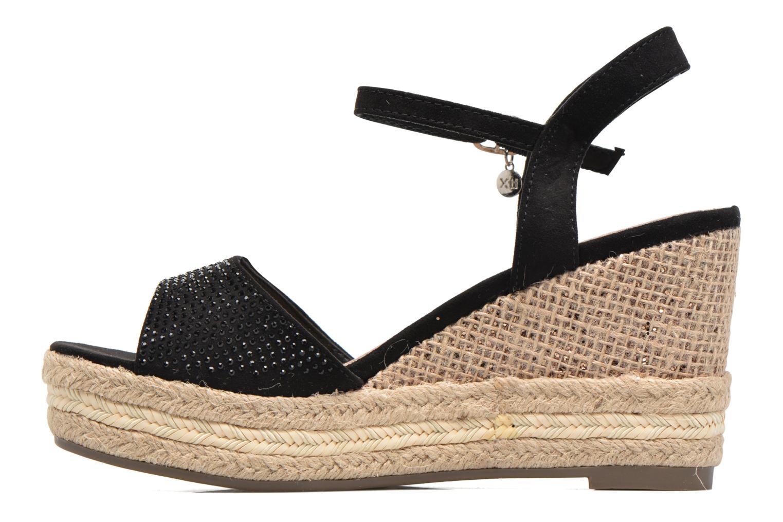 Sandales et nu-pieds Xti Ewi 46726 Noir vue face