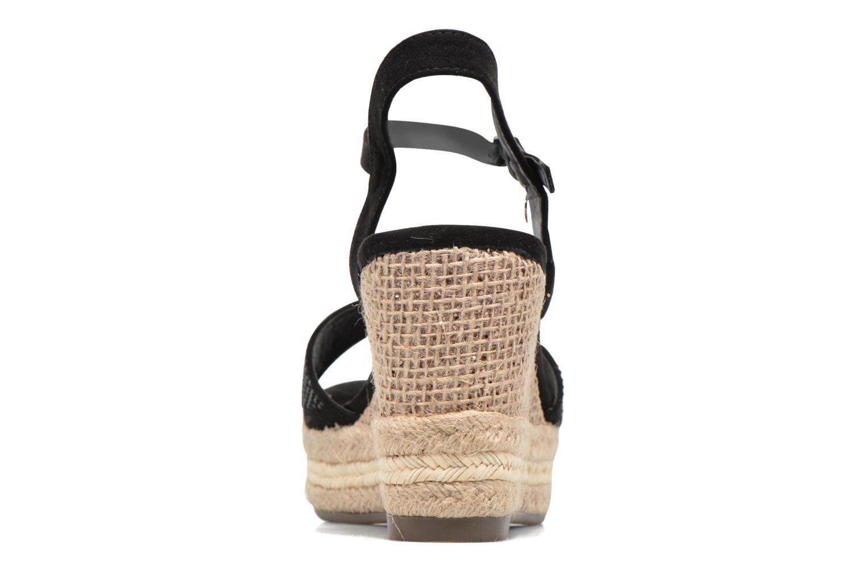 Sandales et nu-pieds Xti Ewi 46726 Noir vue droite