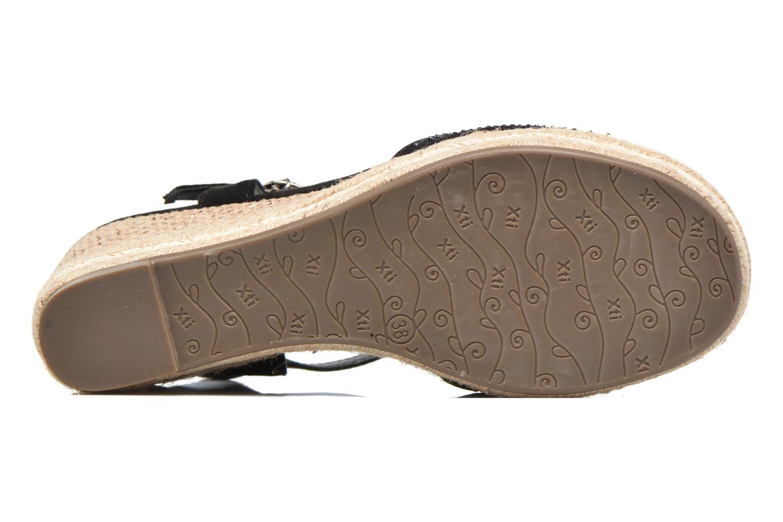 Sandales et nu-pieds Xti Ewi 46726 Noir vue haut