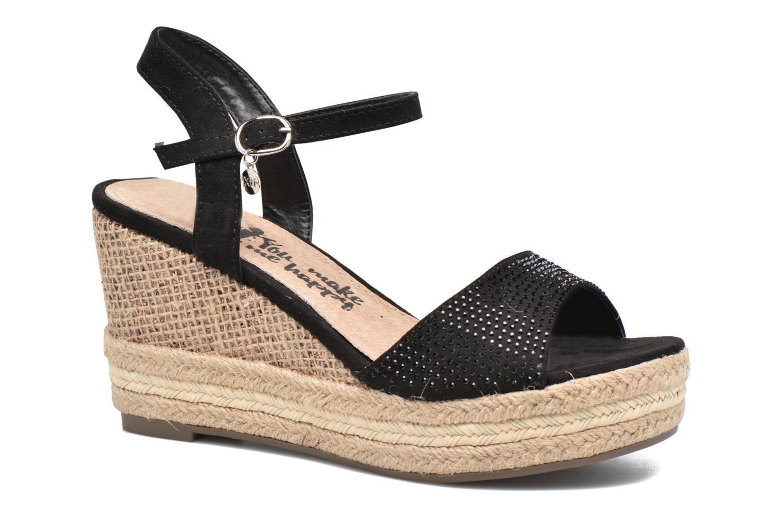 Sandales et nu-pieds Xti Ewi 46726 Noir vue détail/paire