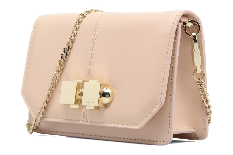 Bolsos de mano Carven FULLJOY Evening bag Rosa vista del modelo