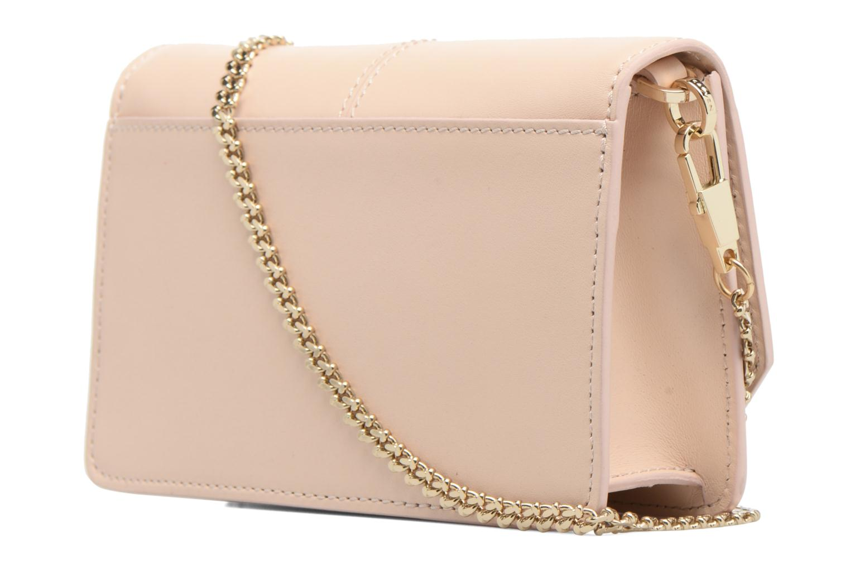 Bolsos de mano Carven FULLJOY Evening bag Rosa vista lateral derecha