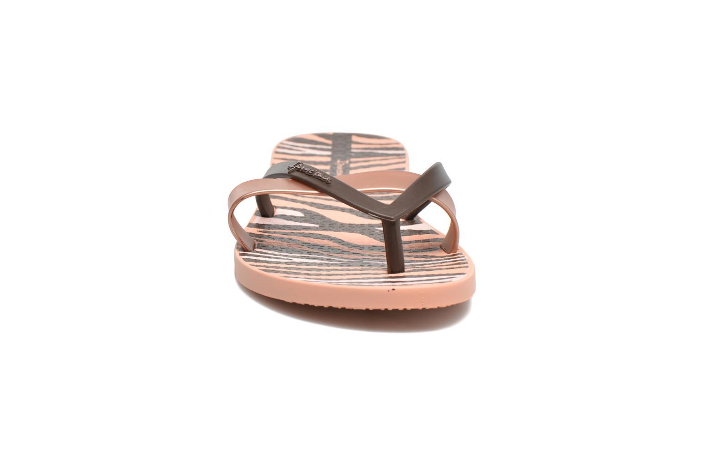 Tongs Ipanema Kirei Silk II Rose vue portées chaussures