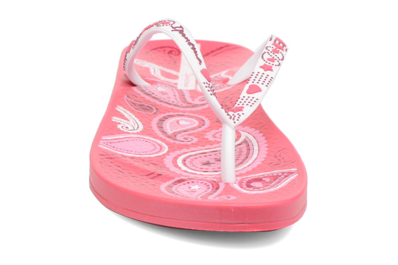 Tongs Ipanema Anatomic Lovely VII Rose vue portées chaussures