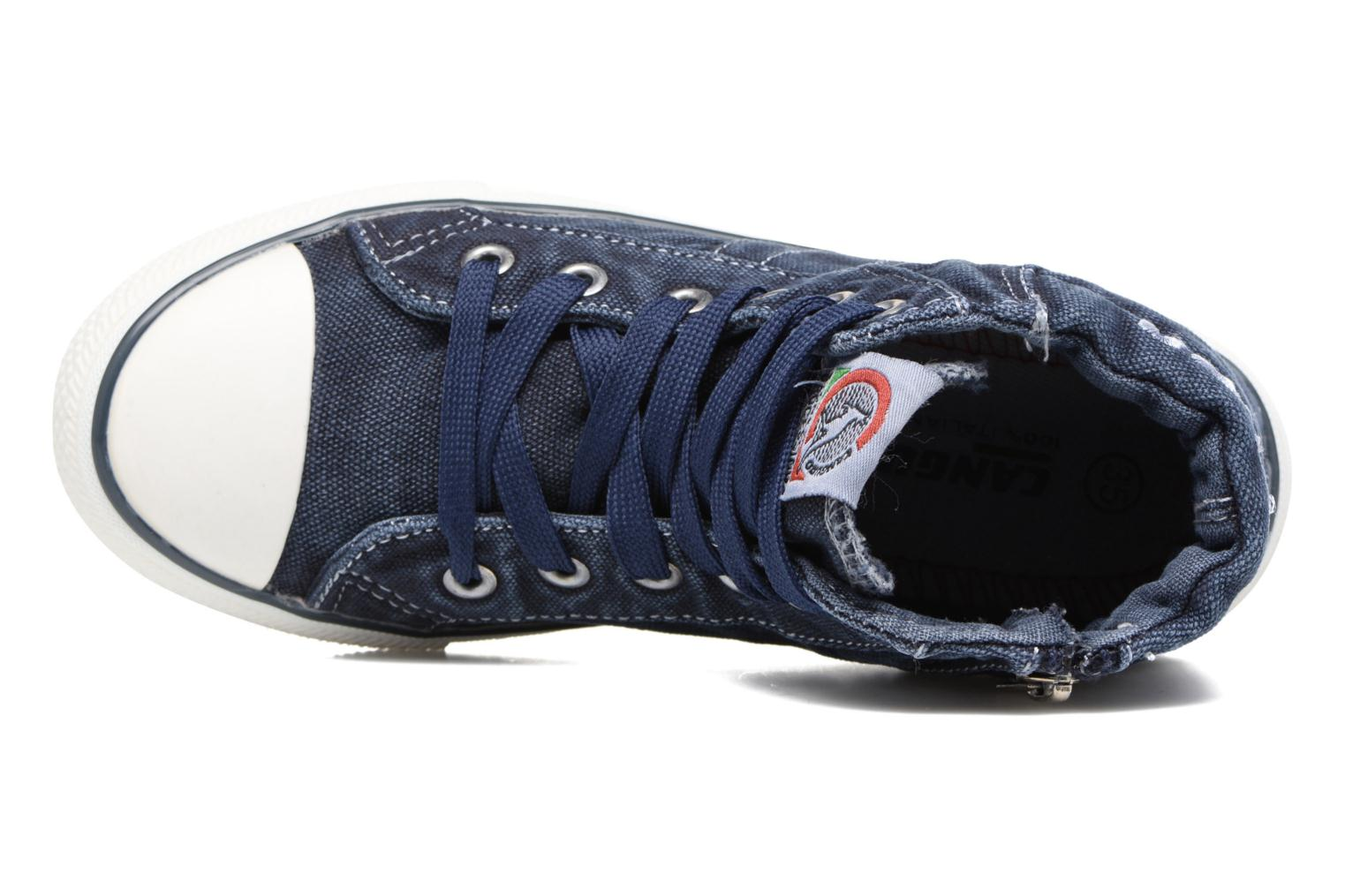 Baskets Canguro Midcut Shoes Tom Bleu vue gauche