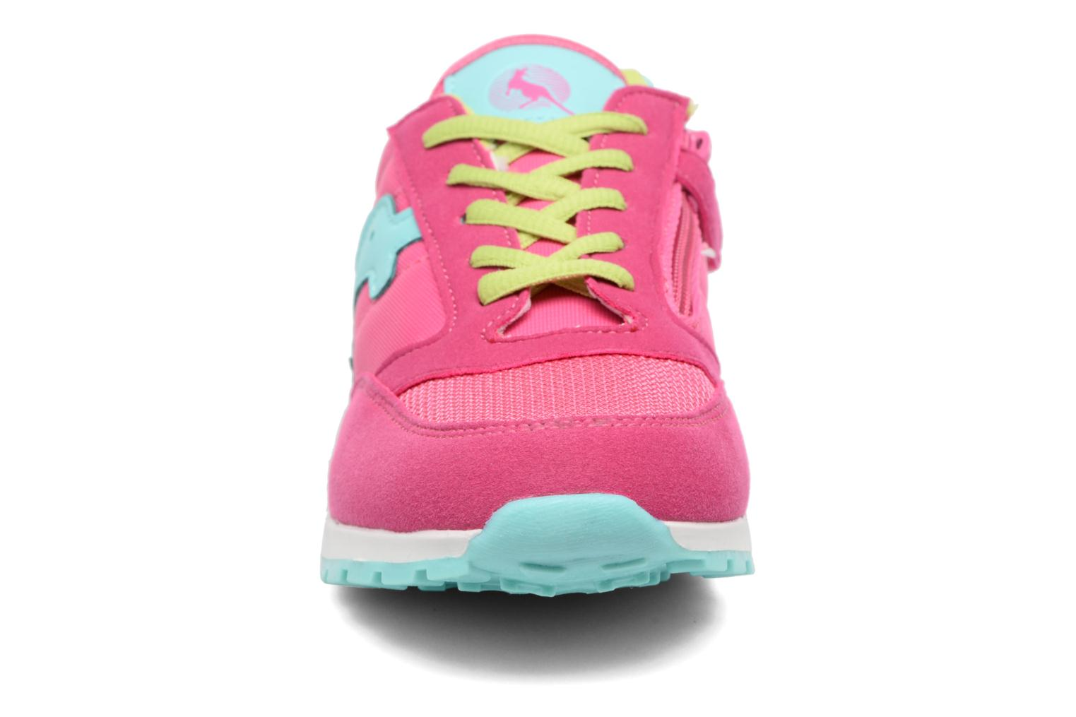 Baskets Canguro Boy/Girl'S Casual Shoes Size Rose vue portées chaussures