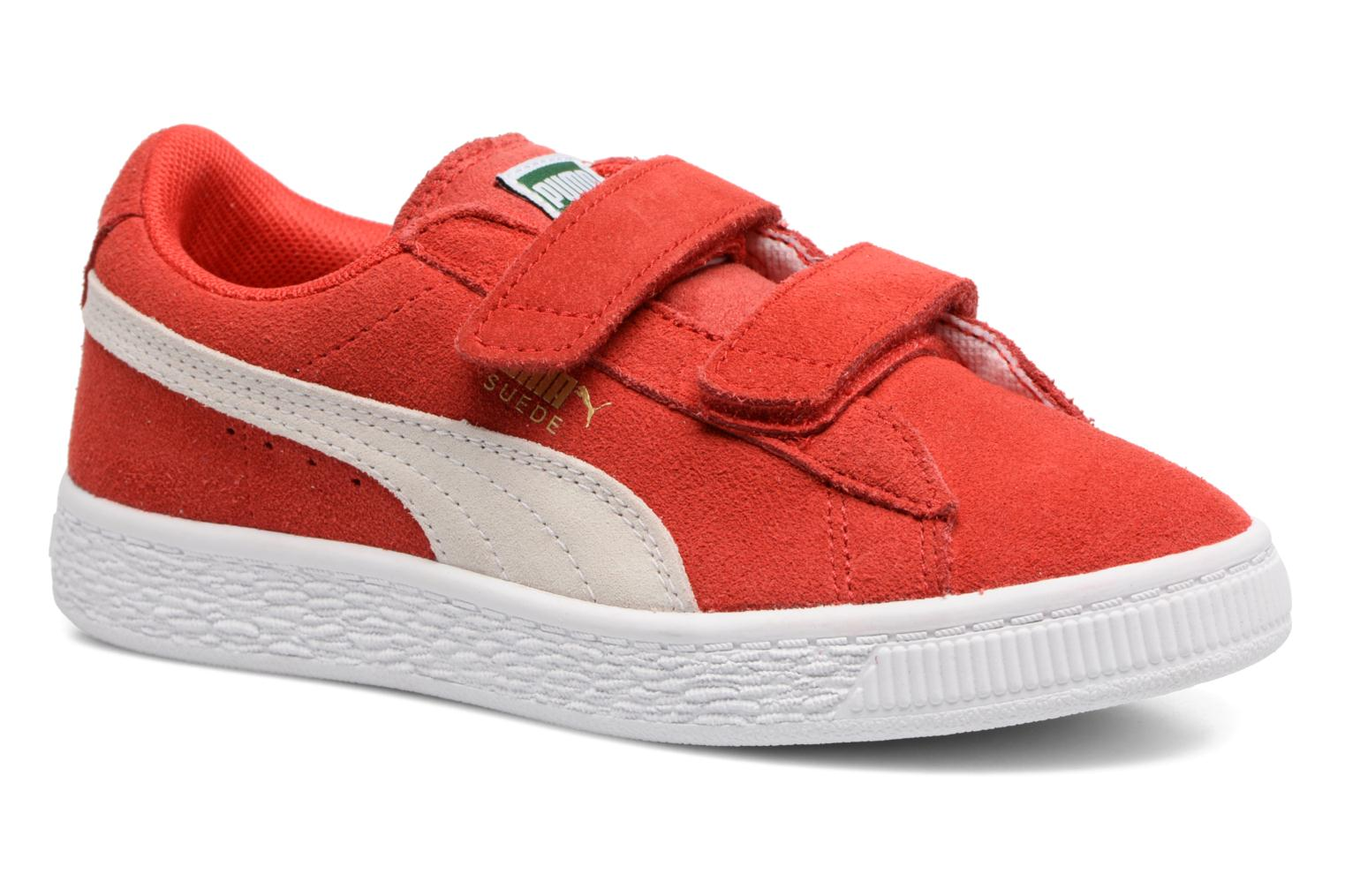 Red Suede Straps Puma Ps 2 I7wAw