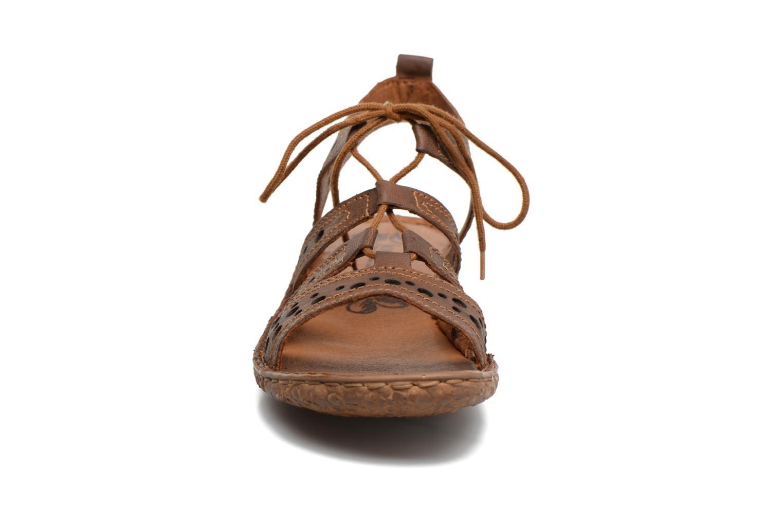 Sandales et nu-pieds Josef Seibel Rosalie 15 Marron vue portées chaussures