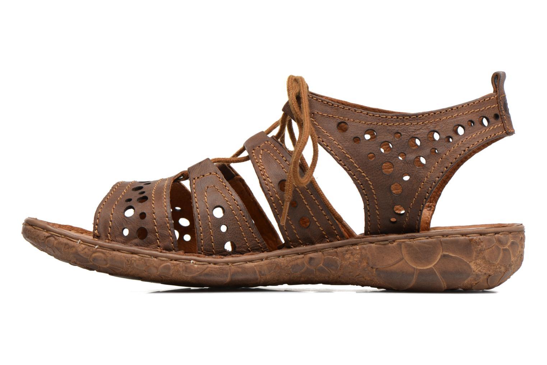 Sandales et nu-pieds Josef Seibel Rosalie 15 Marron vue face