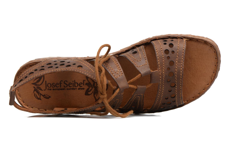 Sandales et nu-pieds Josef Seibel Rosalie 15 Marron vue gauche
