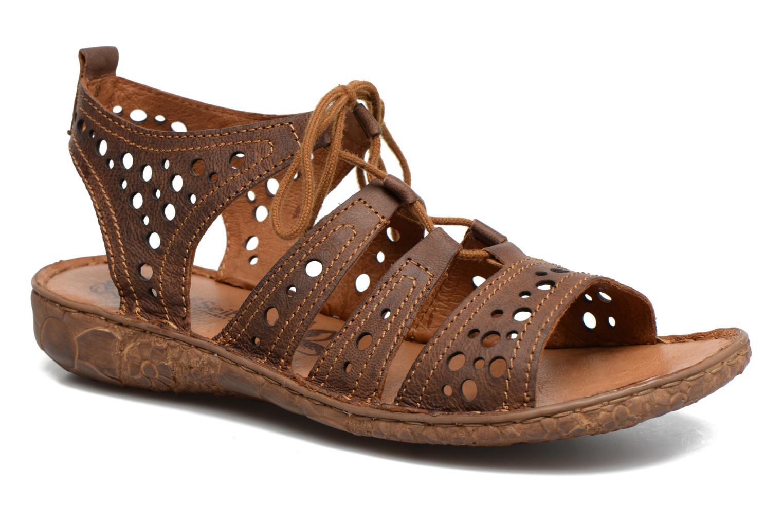 Sandales et nu-pieds Josef Seibel Rosalie 15 Marron vue détail/paire