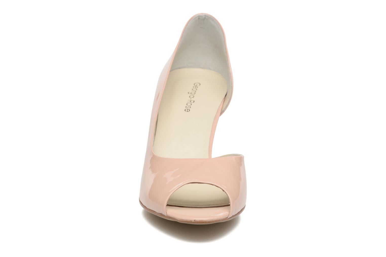 High heels Georgia Rose Aligette Beige model view