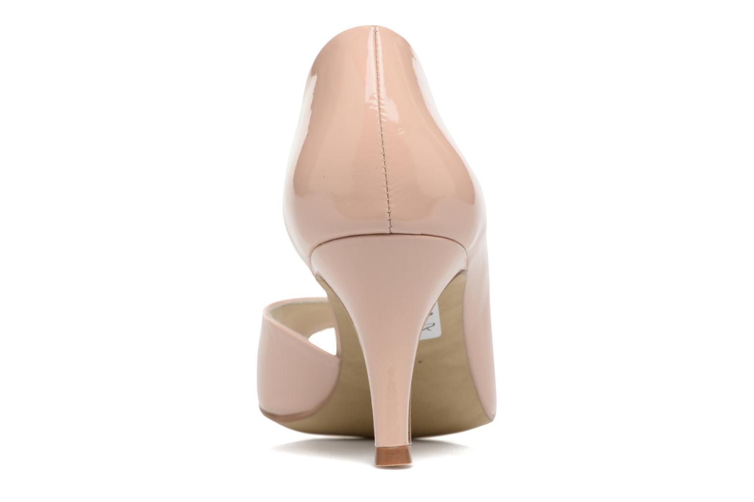 High heels Georgia Rose Aligette Beige view from the right