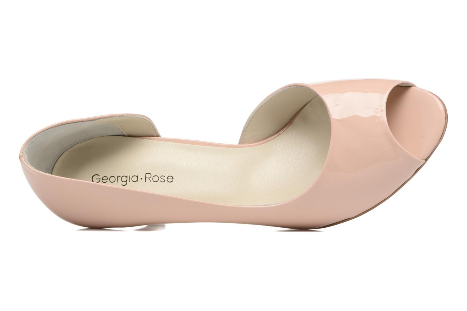 High heels Georgia Rose Aligette Beige view from the left