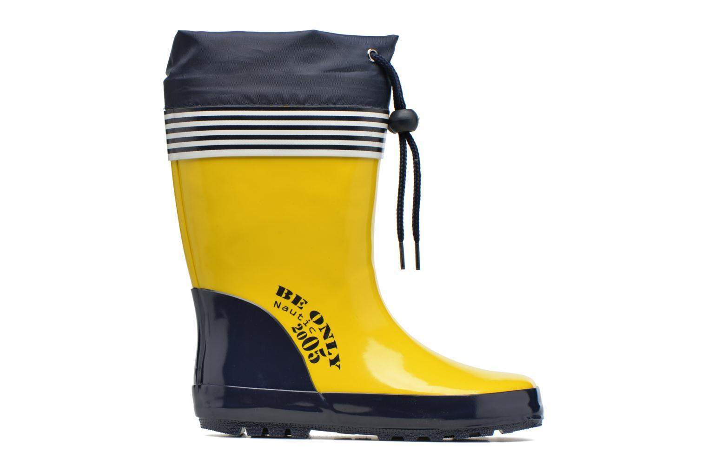 Laarzen Be Only Nautic Geel achterkant