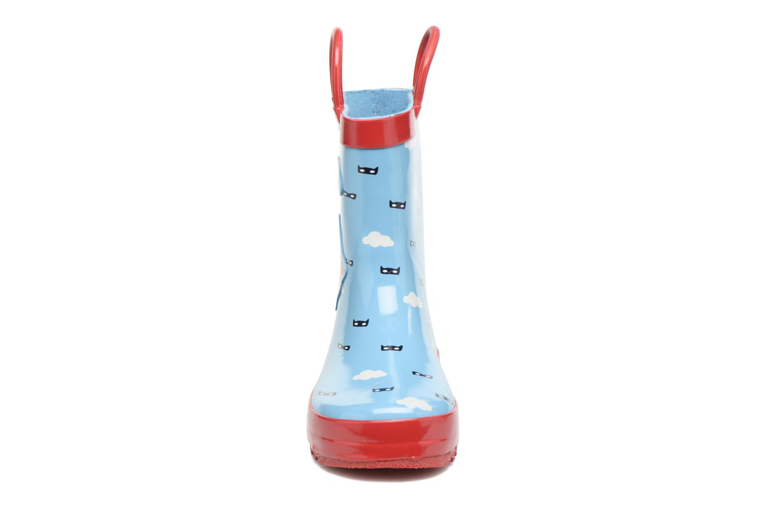 Bottes Be Only Heros Bleu vue portées chaussures