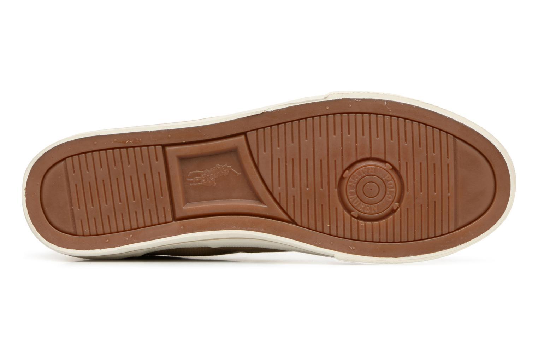 Baskets Polo Ralph Lauren Vaughn-Ne-Sneakers-Vulc Beige vue haut