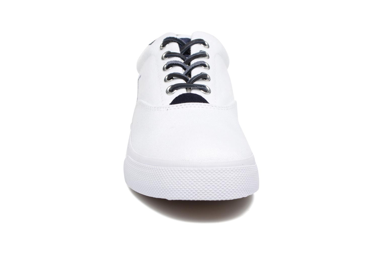 Baskets Polo Ralph Lauren Vaughn-Ne-Sneakers-Vulc Blanc vue portées chaussures