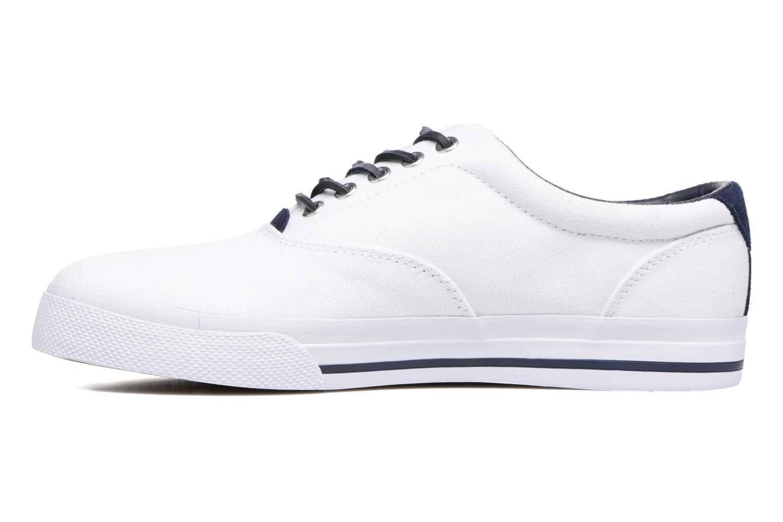 Baskets Polo Ralph Lauren Vaughn-Ne-Sneakers-Vulc Blanc vue face