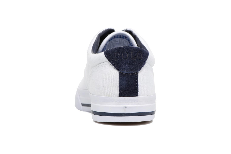 Baskets Polo Ralph Lauren Vaughn-Ne-Sneakers-Vulc Blanc vue droite