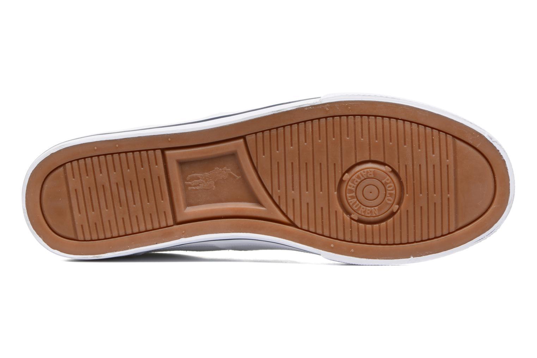 Baskets Polo Ralph Lauren Vaughn-Ne-Sneakers-Vulc Blanc vue haut
