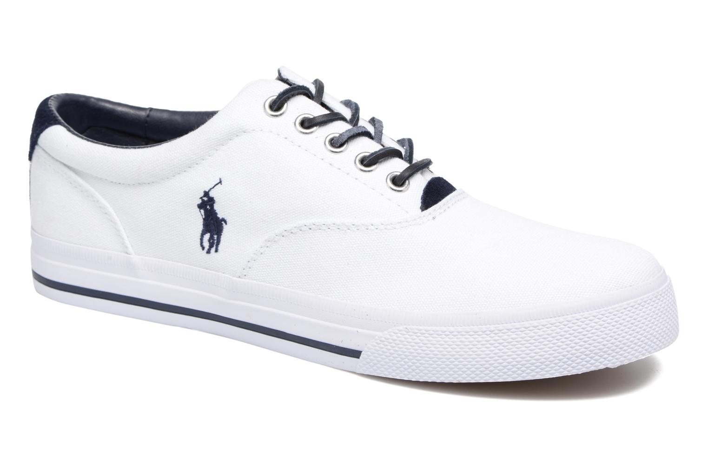 Baskets Polo Ralph Lauren Vaughn-Ne-Sneakers-Vulc Blanc vue détail/paire