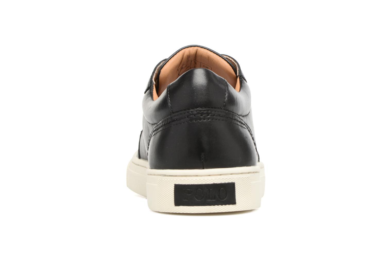 Baskets Polo Ralph Lauren Jeston-Sneakers-Athletic Shoe Noir vue droite